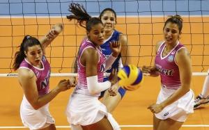 Rexona/Rio de Janeiro venceu o jogo por 3 sets a 0