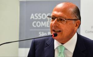 São Paulo - O governador Geraldo  Alckmin fala sobre perspectivas e investimentos para 2016 na Associação Comercial de São Paulo (ACSP). (Foto: Rovena Rosa/Agência Brasil)