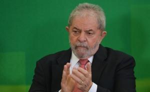 Luiz Inácio Lula da Silva, durante cerimônia de posse (José Cruz/Agência Brasil)