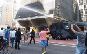 Secretário de Segurança Pública foi hostilizado na Paulista