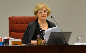 Sessão no STF da Primeira Turma presidida pelo ministra Rosa Weber
