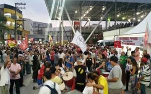 Ato em Osasco contra Impeachment de Dilma