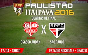 Audax x São Paulo