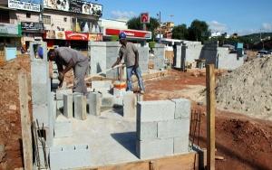Construção do novo terminal em Itapevi
