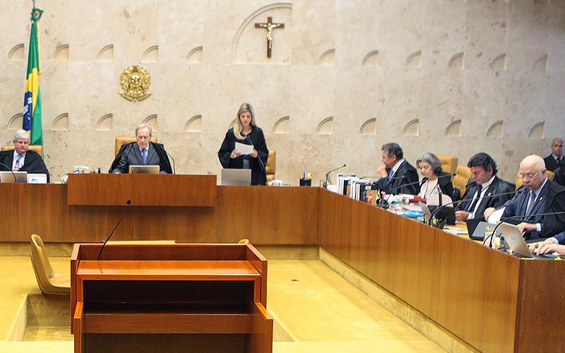 "BRASILIA/DF 17-02-2016 NACIONAL STF O Supremo Tribunal Federal realiza sess""o extraordin·ria do Plen·rio . Foto: Carlos Humberto/SCO/STF"