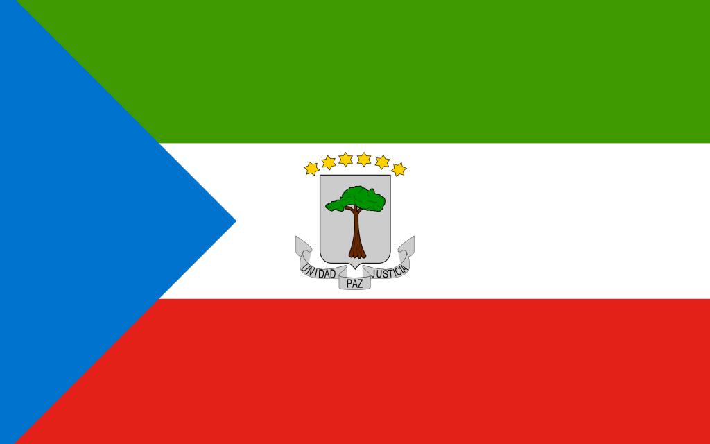 Guiné Equatorial bandeira