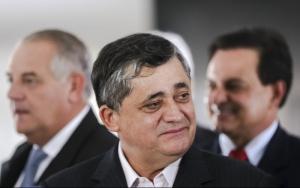 Brasília - O Deputado José Guimarães durante entrevista de parlamentares que apoiam o governo  após encontro com a Presidenta Dilma Rousseff (Marcelo Camargo/Agência Brasil)