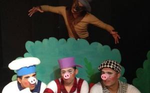 Tres porquinhos em Barueri