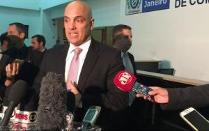 Rio de Janeiro - O ministro da Justiça e Cidadania, Alexandre de Moraes,discute segurança pública no Rio e para as Olimpíadas (Cristina Índio do Brasil/Agência Brasil)