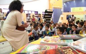 Bibliotecas de Barueri oferecem sarau