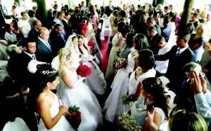 Casamento comunitario jandira