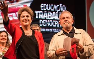 Dilma no 1 de Maio