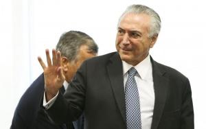 Brasília - O Presidente interino Michel Temer se reúne com líderes partidários da Câmara dos Deputados. (Marcelo Camargo/Agência Brasil)