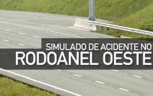 Simulado de acidente no Rodoanel