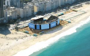 Arena olímpica de vôlei de praia Rio