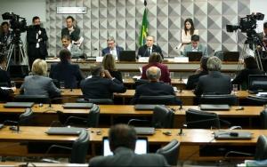 Brasília - Comissão Especial do Impeachment de Dilma Rousseff durante reunião para discussão do plano de trabalho para a segunda etapa do processo (Marcelo Camargo/Agência Brasil)