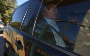 Ex-ministro José Dirceu, deixa a sede da Polícia Federal em Brasília (Marcello Casal/Agência Brasil)