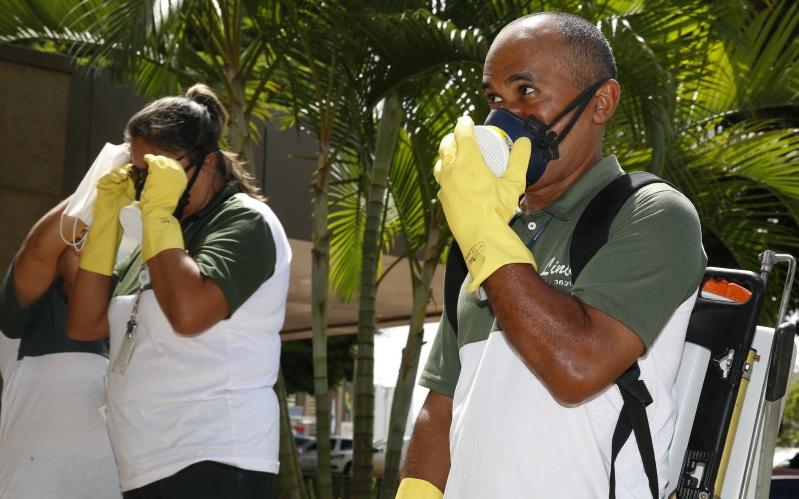 Brasília/DF 11/03/2016 - Ação de combate ao Aedes aegypti. Foto: Beto Nociti/BCB