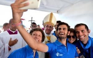 31/07/2016- Cracóvia, Polônia- O papa Francisco participou neste domingo (31) da  Jornada Mundial da Juventude, no Campo da Misericórdia. Foto: Foto: Mazur/catholicnews.org.uk
