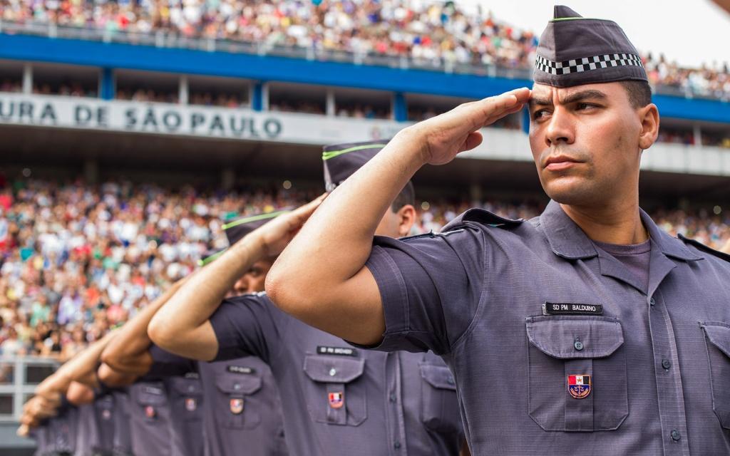O governador Geraldo Alckmin participa da formatura de 1.598 soldados da Polícia Militar do Estado de São Paulo no Anhembi.Data: 21/11/2014. Local: São Paulo/SP.  Foto: Diogo Moreira/A2 FOTOGRAFIA