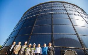Governador do estado de São Paulo, Dr. Geraldo Alckmin, inaugura reservatório de água da Sabesp de 10.000 m3 em Barueri. Data: 23/07/2016.  Local: Barueri - SP Foto: Daniel Guimarães/A2img
