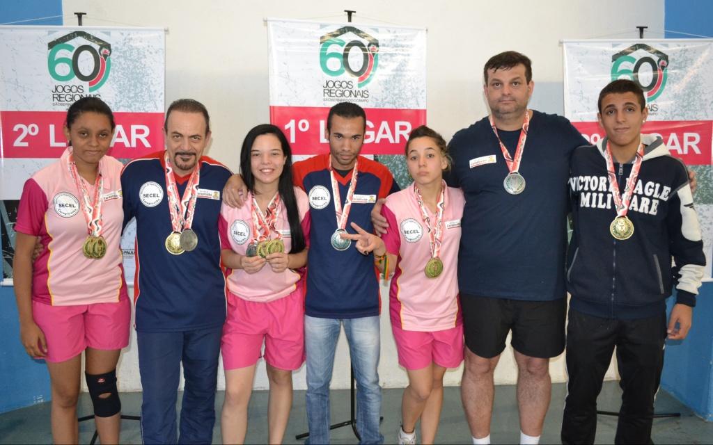 93ad7f05a Carapicuíba lidera classificação da 2ª divisão dos Jogos Regionais 2016