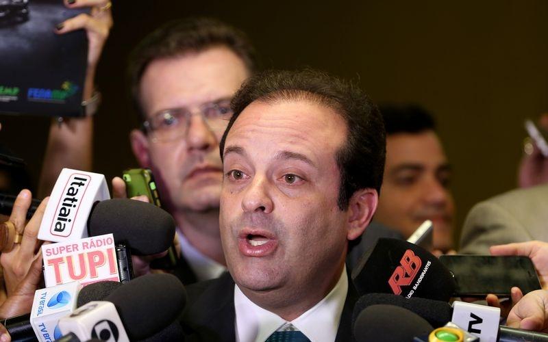 Brasília - Entrevista com o líder do governo na Câmara, André Moura após reunião de líderes na Câmara dos Deputados (Wilson Dias/Agência Brasil)