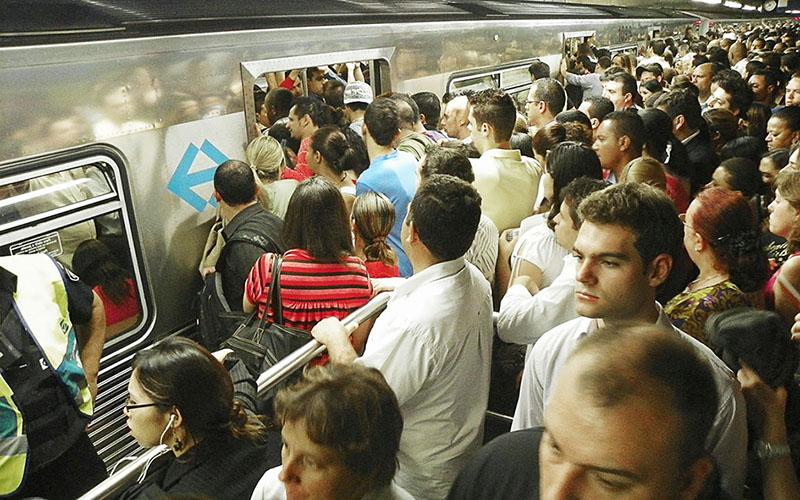 Metro Lotado