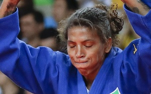 Rafaela ouro no judo
