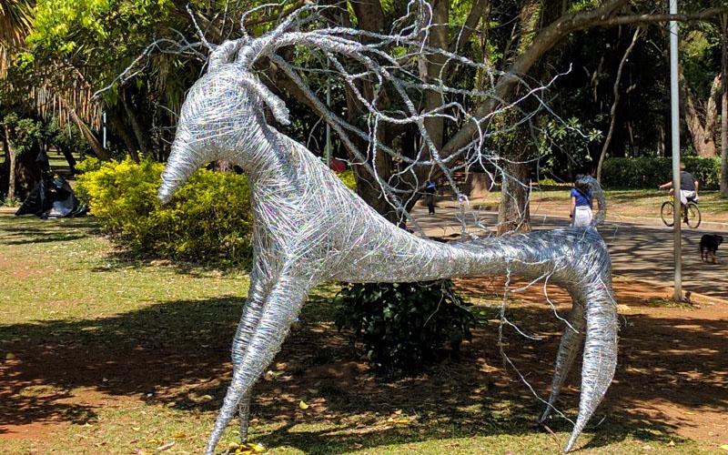 esculturas animais