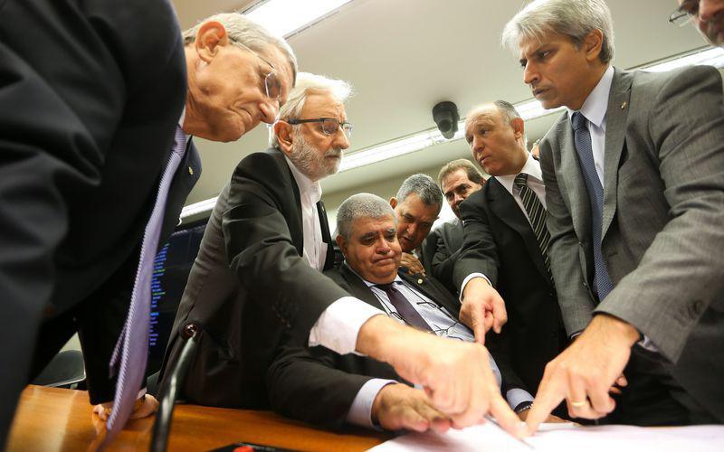 Sessão da comissão especial da reforma da Previdência Social
