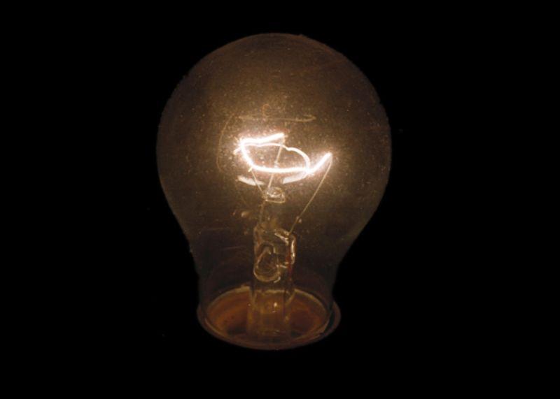 Luz se apagando