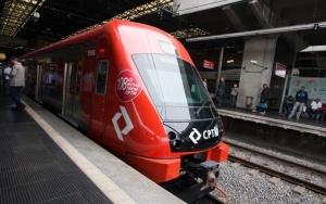 trem da CPTM linha Rubi. Local: São Paulo. Data: 02/09/2016 Foto: Ciete Silvério/A2IMG