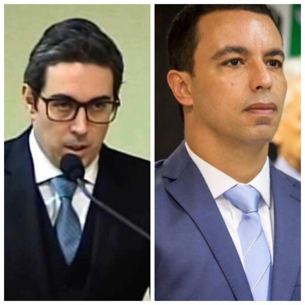 Dr. Gustavo Albano e Rogério Lins
