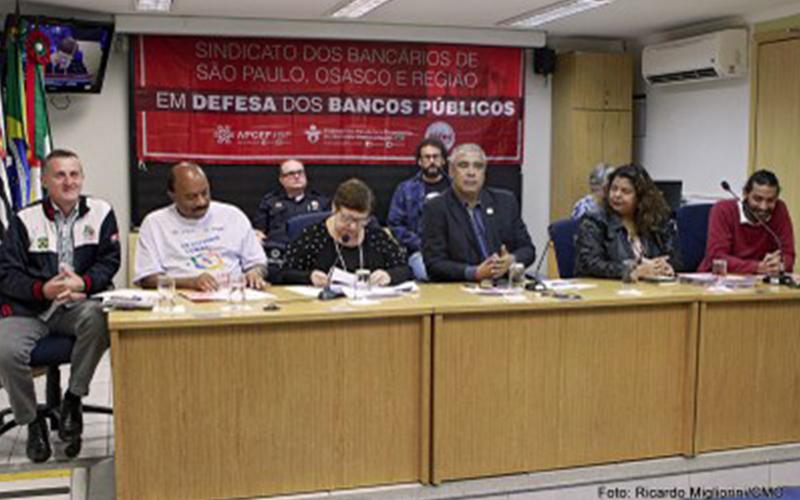 Audiência pública dos bancos públicos