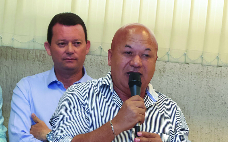 2018-02-27 Posse Osvaldo Verginio - Secretário de transportes e mobilidade urbana - Ivan Cruz