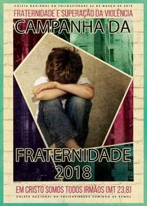 Cartaz da Campanha da Fraternidade 2018