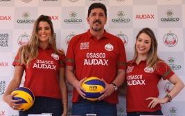 Audax é o novo apoiador do Osasco Voleibol Clube