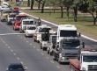 Caminhoneiros fazem protesto contra a alta no preço dos combustíveis na Esplanada dos Ministérios.Antonio Cruz/Agência Brasil