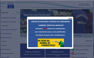 Site do Procon