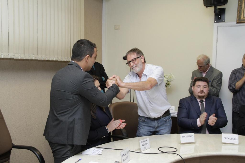 Foto_2017-11-06-Posse dos novos Secretários - Ismael Francisco