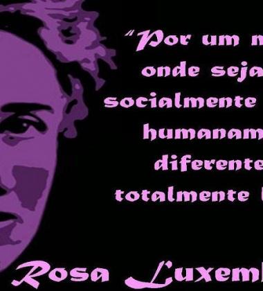 Card Rosa Luxemburgo
