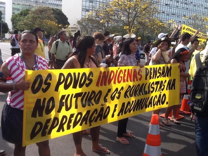 foto:Mobilização Nacional Indígena