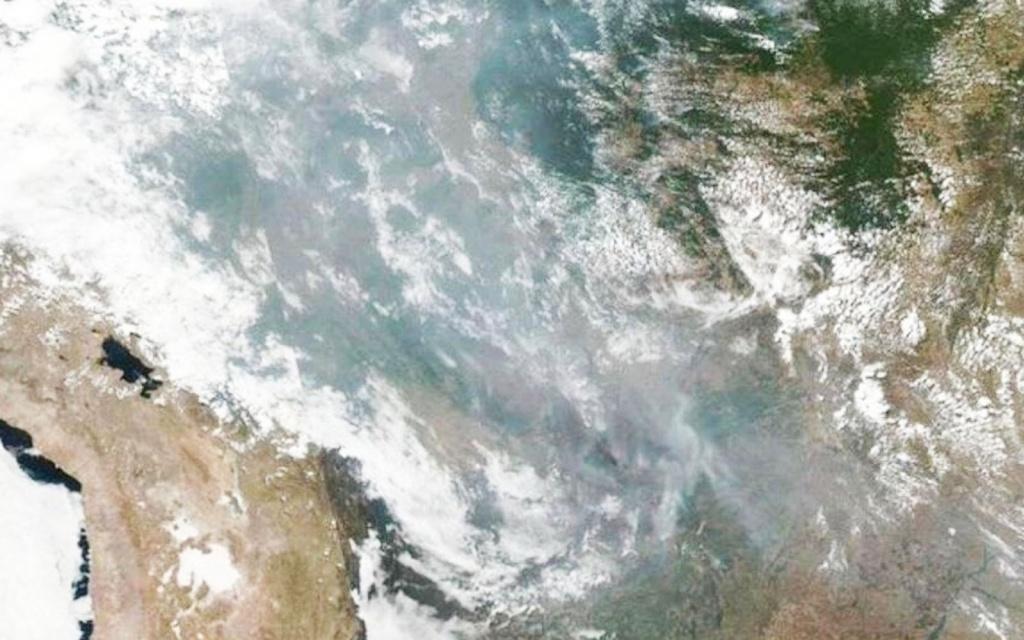 NASA mostra imagens impressionantes das queimadas na Amazônia