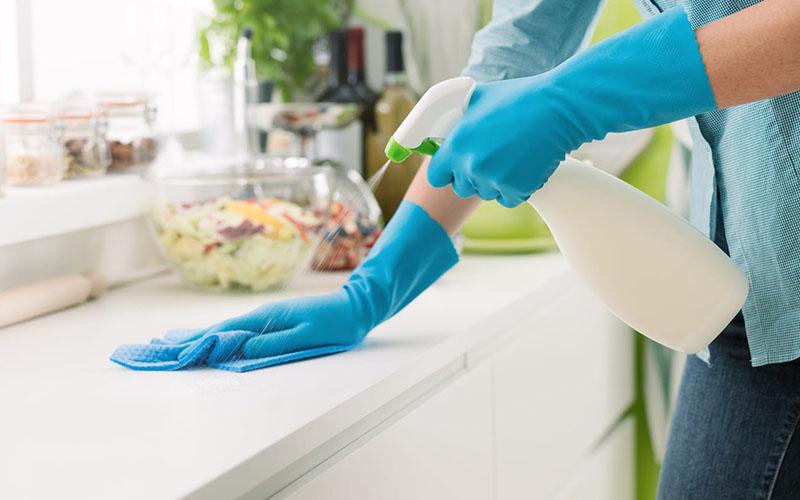 Limpando casa